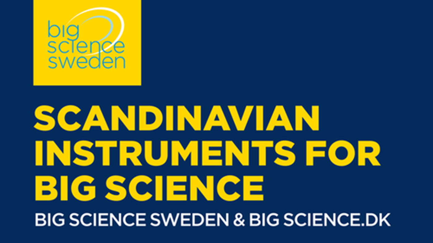 Scandinavian Instruments for Big Science – One day seminar