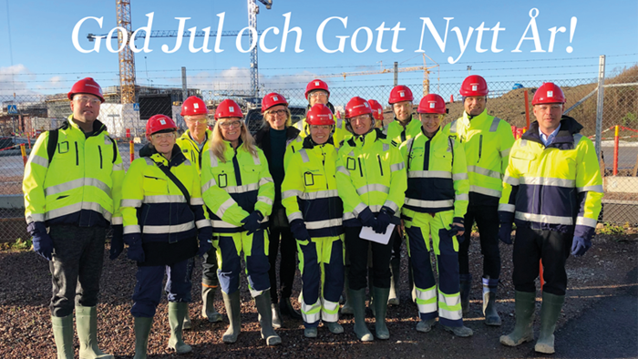 God Jul och Gott Nytt innovativt 2019 önskar hela nationella Big Science Sweden-teamet