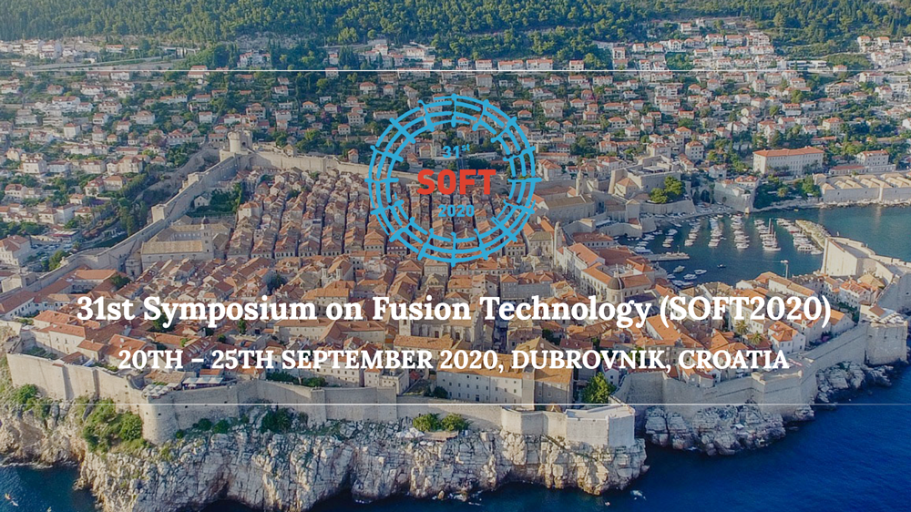 CANCELLED: Symposium on Fusion Technology (SOFT 2020) • Dubrovnik, Croatia