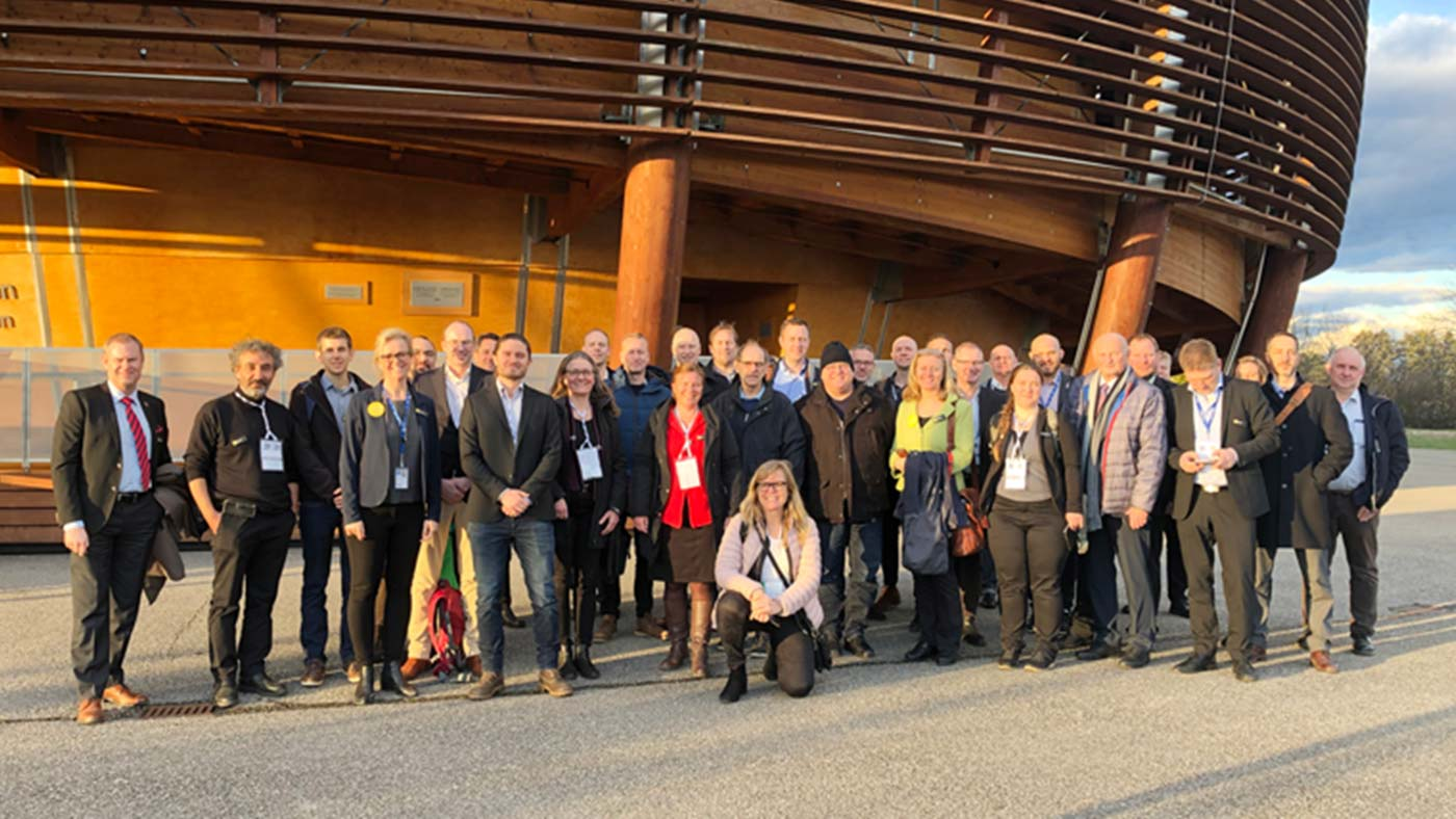 Here, Big Science Sweden has travelled down to CERN with a large group of companies. Over two days, they made new contacts and received the latest information about current business opportunities.