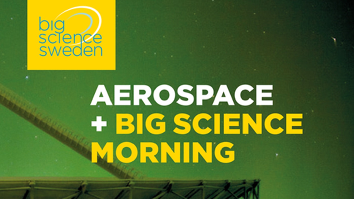 Piteå: Aerospace and Big Science Morning, obs! lunchmöte