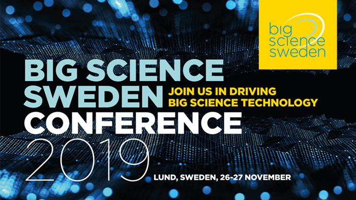 Big Science Sweden Conference 2019 in Lund